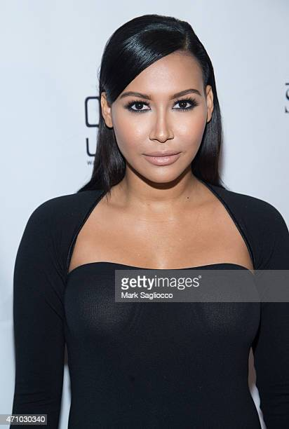 Actress Naya Rivera attends The Creative Coalition 2015 Benefit Dinner at STK Washington DC on April 24 2015 in Washington DC