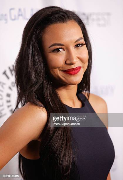 Actress Naya Rivera attends the Inaugural PaleyFest Icon Award honoring Ryan Murphy at The Paley Center for Media on February 27 2013 in Beverly...