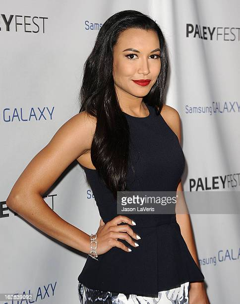 Actress Naya Rivera attends the PaleyFest Icon Award presentation at The Paley Center for Media on February 27 2013 in Beverly Hills California