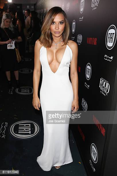 Actress Naya Rivera attends Vanity Fair and FIAT Young Hollywood Celebration at Chateau Marmont on February 23 2016 in Los Angeles California