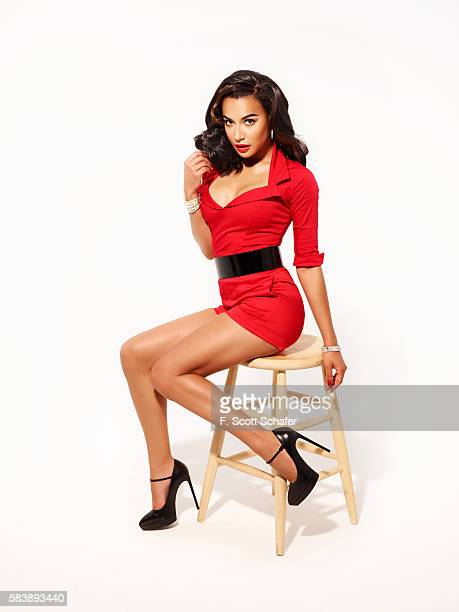 Actress Naya Riveria is photographed for Complex Magazine on May 23 2013 in Los Angeles California