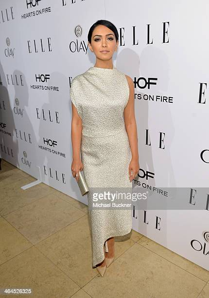 Actress Nazanin Boniadi attends ELLE's Annual Women in Television Celebration on January 22 2014 in West Hollywood California