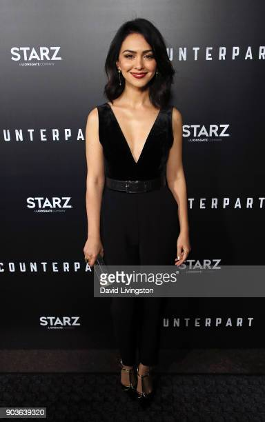 Actress Nazanin Boniadi attends the premiere of Starz's 'Counterpart' at the Directors Guild of America on January 10 2018 in Los Angeles California
