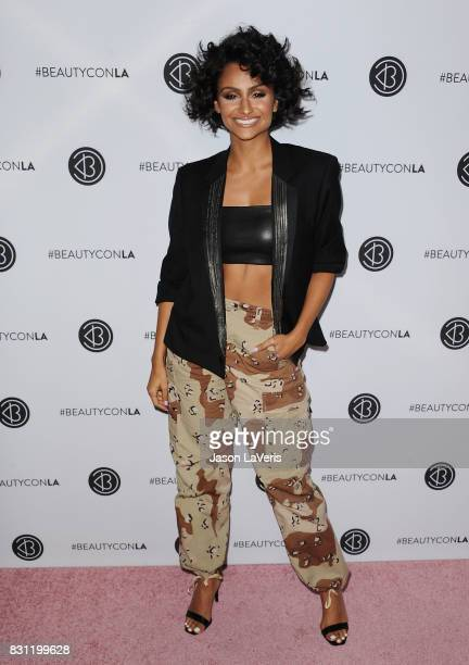 Actress Nazanin Mandi attends the 5th annual Beautycon festival at Los Angeles Convention Center on August 13, 2017 in Los Angeles, California.