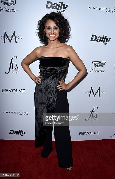Actress Nazanin Mandi attends the Daily Front Row 'Fashion Los Angeles Awards' at Sunset Tower Hotel on March 20 2016 in West Hollywood California