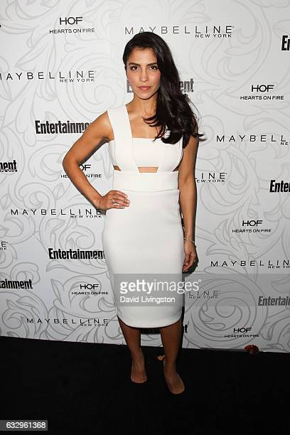 Actress Nazneen Contractor arrives at the Entertainment Weekly celebration honoring nominees for The Screen Actors Guild Awards at the Chateau...