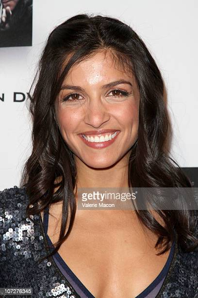 Actress Nazneen Contractor arrives at the FOX Home Entertainment's 24 Marathon Challenge on December 2 2010 in Hollywood California