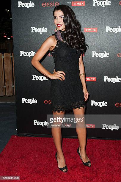 Actress Nazneen Contractor arrives at the People's One To Watch Event at The Line on October 9 2014 in Los Angeles California