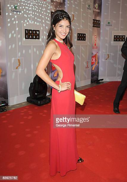 Actress Nazneen Contractor attends the 2008 Gemini Awards at the Metro Convention Centre on November 28 2008 in Toronto Canada