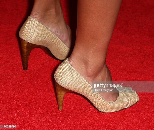 Actress Nazneen Contractor attends the 2013 Plush Show at the Hyatt Regency Century Plaza on June 9 2013 in Century City California
