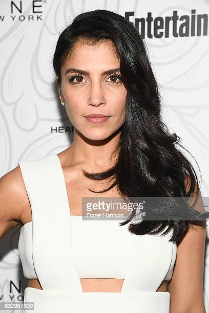 Actress Nazneen Contractor attends the Entertainment Weekly Celebration of SAG Award Nominees sponsored by Maybelline New York at Chateau Marmont on...