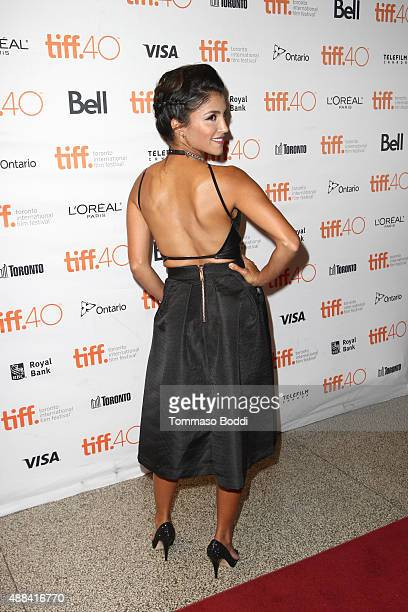 Actress Nazneen Contractor attends the Heroes Reborn Premiere during the 2015 Toronto International Film Festival held at Winter Garden Theatre on...