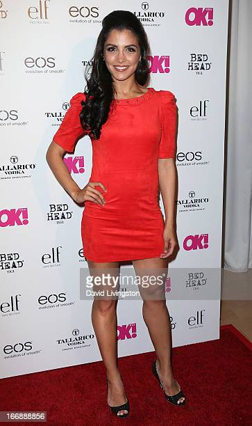 Actress Nazneen Contractor attends the OK Magazine So Sexy LA party at SkyBar at the Mondrian Los Angeles on April 17 2013 in West Hollywood...