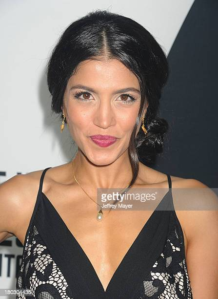 Actress Nazneen Contractor attends the Paramount Pictures' celebration of the BluRay and DVD debut of 'Star Trek Into Darkness' at California Science...