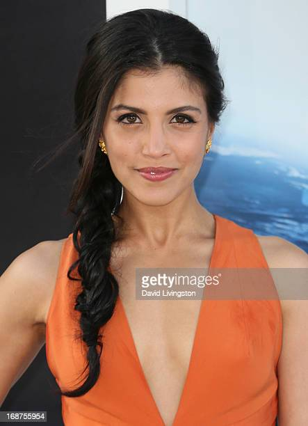 Actress Nazneen Contractor attends the premiere of Paramount Pictures' Star Trek Into Darkness at the Dolby Theatre on May 14 2013 in Hollywood...