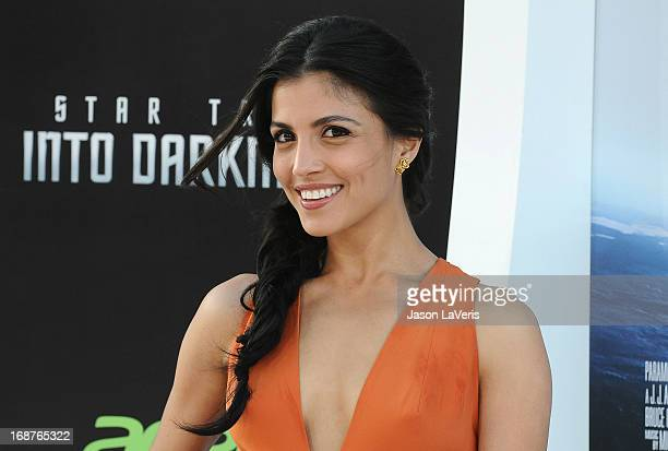 Actress Nazneen Contractor attends the premiere of Star Trek Into Darkness at Dolby Theatre on May 14 2013 in Hollywood California