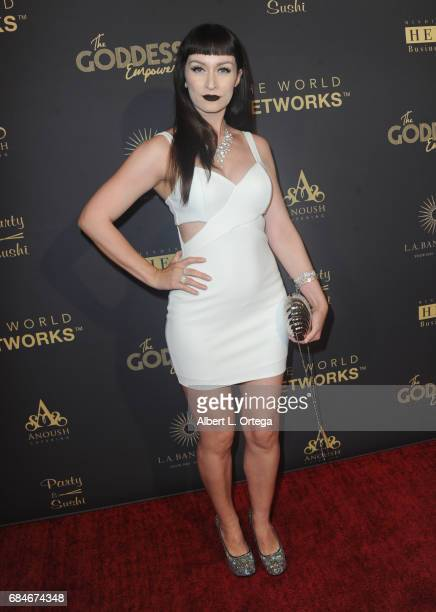 Actress Nea Dune arrives for The World Networks Presents Launch Of The Goddess Empowered held at Brandview Ballroom on May 17 2017 in Glendale...