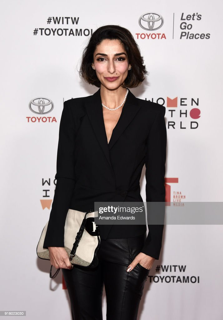 2018 Women In The World Los Angeles Salon - Arrivals : News Photo