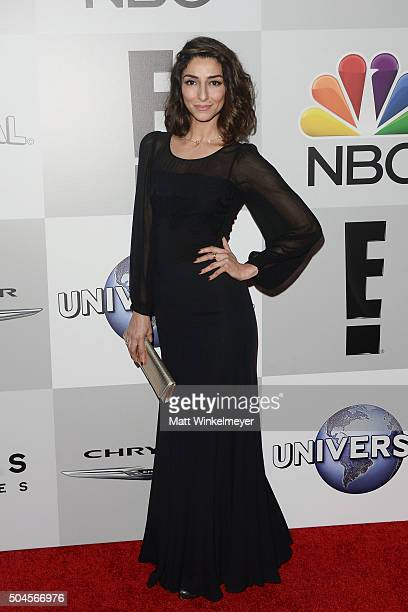 Actress Necar Zadegan arrives at the NBCUniversal's 73rd Annual Golden Globes After Party at The Beverly Hilton Hotel on January 10 2016 in Beverly...