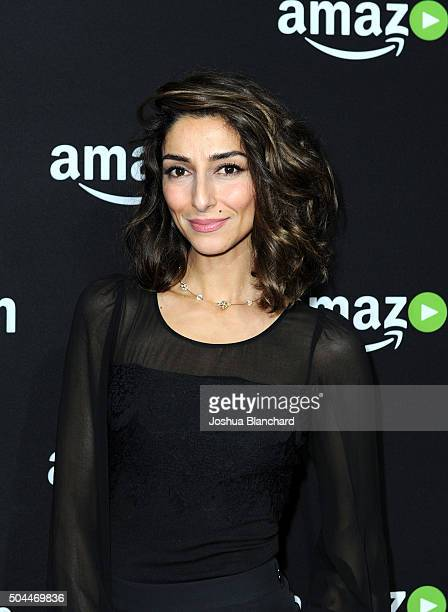 Actress Necar Zadegan attends Amazon Studios Golden Globe Awards Party at The Beverly Hilton Hotel on January 10 2016 in Beverly Hills California