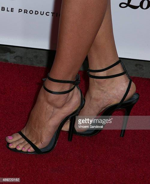 Actress Necar Zadegan attends Bravo's Los Angeles premiere of Girlfriends Guide To Divorce at Ace Hotel on November 18 2014 in Los Angeles California