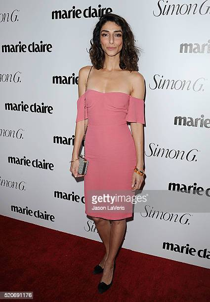 Actress Necar Zadegan attends the Marie Claire Fresh Faces party at Sunset Tower Hotel on April 11 2016 in West Hollywood California