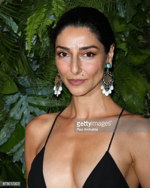 Actress Necar Zadegan attends the Max Mara WIF Face Of The Future event at the Chateau Marmont on June 12 2018 in Los Angeles California