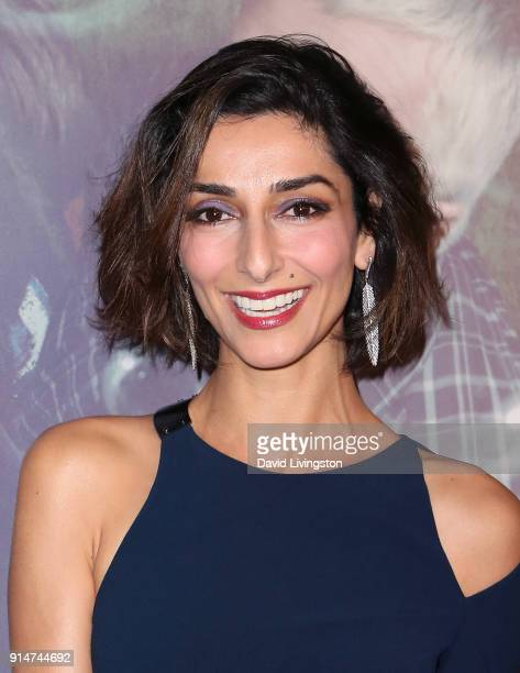 Actress Necar Zadegan attends the premiere of HBO's Here and Now at the Directors Guild of America on February 5 2018 in Los Angeles California
