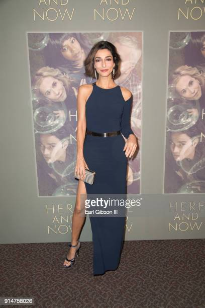 Actress Necar Zadegan attends the Premiere Of HBO's Here And Now at Directors Guild Of America on February 5 2018 in Los Angeles California