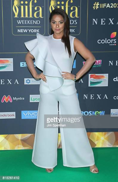 Actress Neetu Chandra attends the 2017 International Indian Film Academy Festival at MetLife Stadium on July 14 2017 in East Rutherford New Jersey