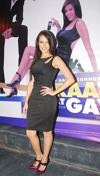 Actress Neha Dhupia at a party for the film Raat Gayee Baat Gayee in Mumbai on Monday November 30 2009
