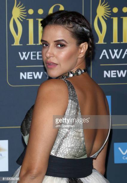 Actress Neha Dhupia attends the 2017 International Indian Film Academy Festival at MetLife Stadium on July 14 2017 in East Rutherford New Jersey