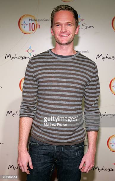 Actress Neil Patrick Harris at the Afterglow party during the Mohegan Sun 10th Anniversary celebration at Ultra 88 Mohegan After Dark at Mohegan Sun...