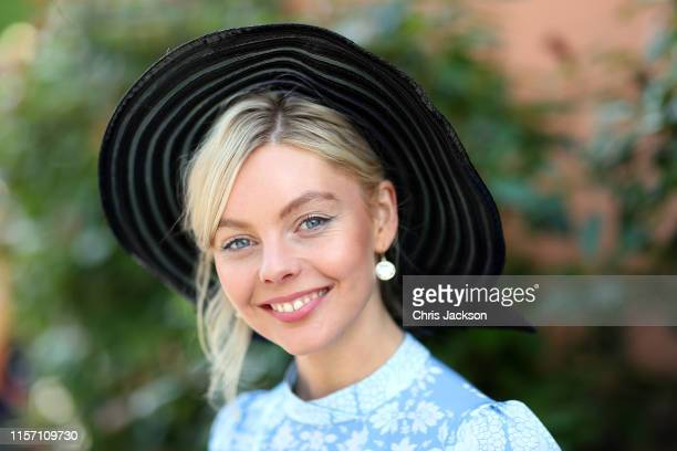 Actress Nell Hudson on day three Ladies Day of Royal Ascot at Ascot Racecourse on June 20 2019 in Ascot England