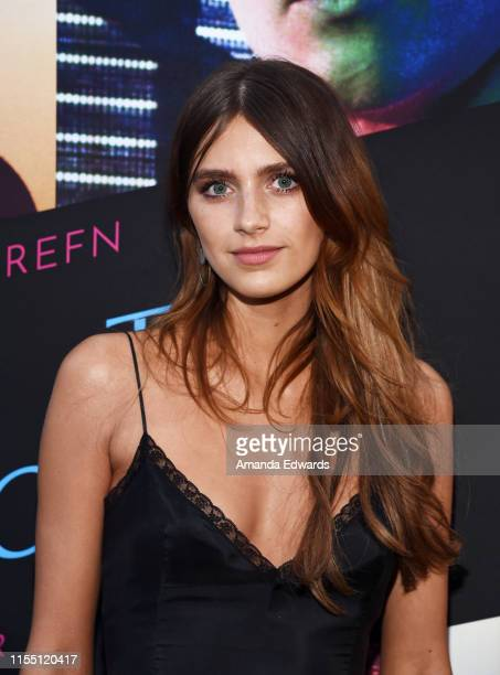 """Actress Nell Tiger Free arrives at the LA Special Screening of Amazon's """"Too Old To Die Young"""" at the Vista Theatre on June 10, 2019 in Los Angeles,..."""