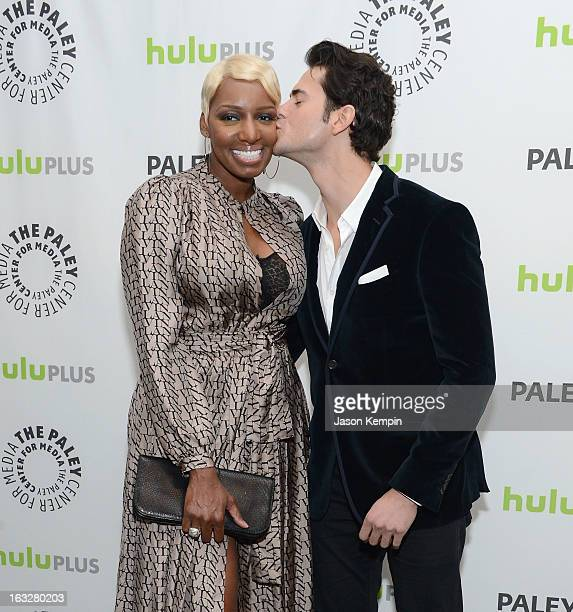 Actress NeNe Leakes and actor Jayson Blair attend the Paley Center For Media's PaleyFest 2013 Honoring The New Normal at Saban Theatre on March 6...