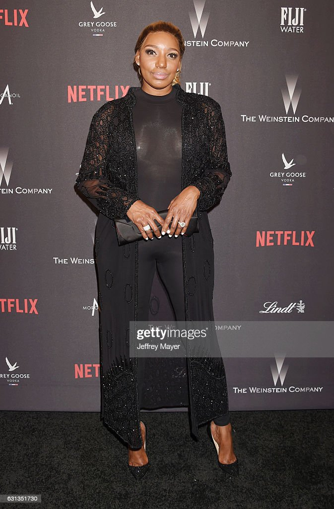 Actress Nene Leakes attends The Weinstein Company and Netflix Golden Globe Party, presented with FIJI Water, Grey Goose Vodka, Lindt Chocolate, and Moroccan Oil at The Beverly Hilton Hotel on January 8, 2017 in Los Angeles, California