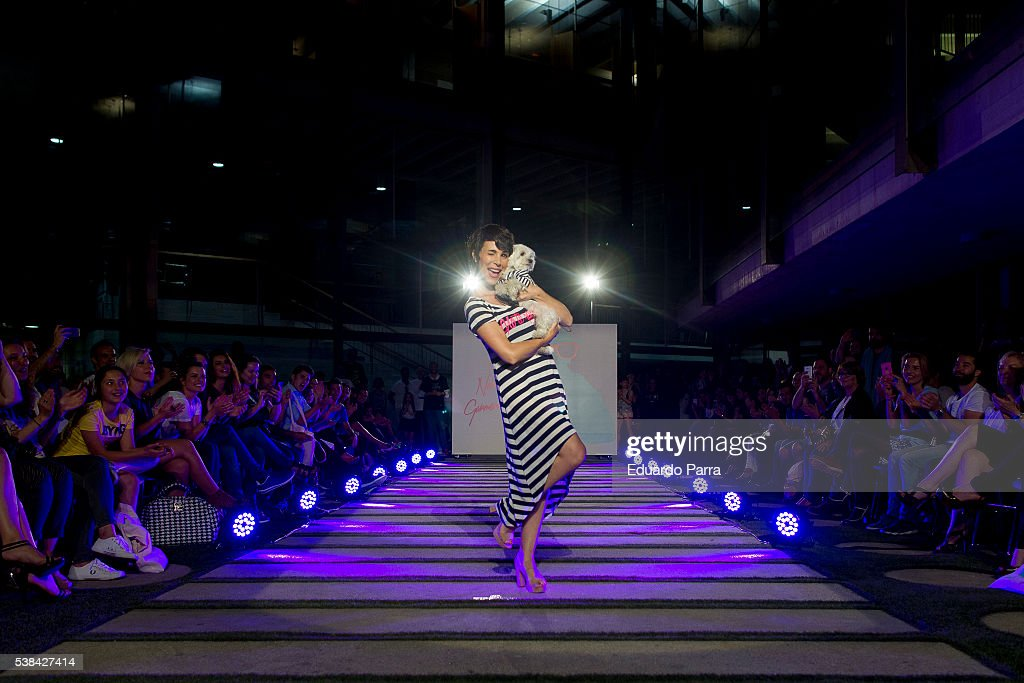 Actress Nera Garmendia attends 'By Nerea Garmendia' 2nd anniversary catwalk at COAM on June 6, 2016 in Madrid, Spain.