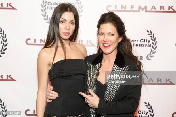 Actress Neraida Bega and Actress and Executive Producer Kira Reed Lorsch attends a screening of Acts Of Desperation At Culver City Film Festival...