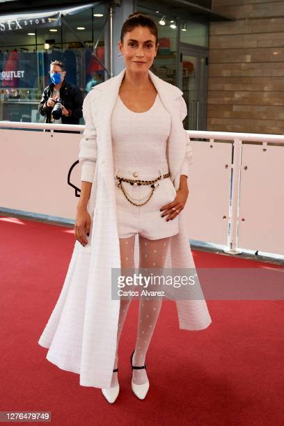 Actress Nerea Barros attends the 'Falling' premiere curing the 68th San Sebastian International Film Festival at the Kursaal Palace on September 24,...