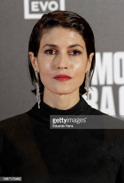 Actress Nerea Barros attends the 'Morir para contar' photocall at Callao cinema on November 13 2018 in Madrid Spain