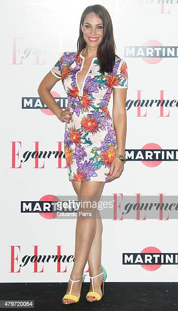 Actress Nerea Garmendia attends Elle Gourmet Awards photocall at Italian Embassy on July 6 2015 in Madrid Spain