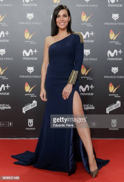 Actress Nerea Garmendia attends Feroz Awards 2018 at Magarinos Complex on January 22 2018 in Madrid Spain