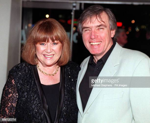 Actress Nerys Hughes at the Odeon cinema in London's Leicester Square for the premiere of the British film 'Don t Go Breaking My Heart'