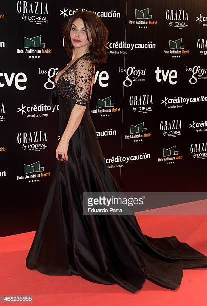 Actress Neus Asensi attends Goya Cinema Awards 2014 after party at Centro de Congresos Principe Felipe on February 9 2014 in Madrid Spain