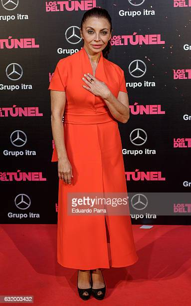 Actress Neus Asensi attends 'Los del Tunel' premiere at Capitol cinema on January 18 2017 in Madrid Spain