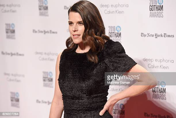 Actress Neve Campbell attends IFP's 26th Annual Gotham Independent Film Awards at Cipriani Wall Street on November 28 2016 in New York City