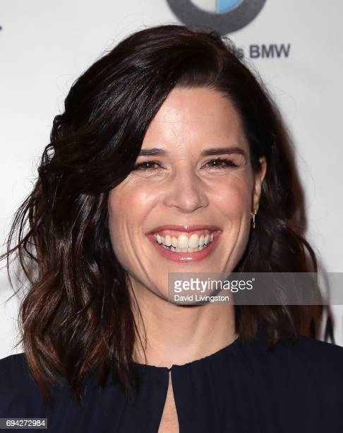 Actress Neve Campbell attends Los Angeles Confidential Women of Influence Tea hosted by Neve Campbell at the Waldorf Astoria Beverly Hills on June 9...