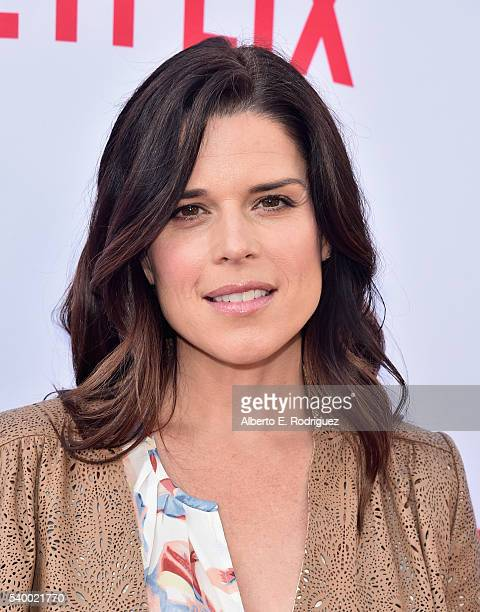 Actress Neve Campbell attends the Netflix Emmy Season Casting Event at Paramount Theatre on June 13 2016 in Hollywood California