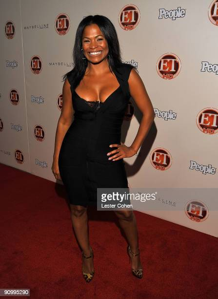 Actress Nia Long arrive at the 13th Annual Entertainment Tonight and People Magazine Emmys After Party at the Vibiana on September 20 2009 in Los...